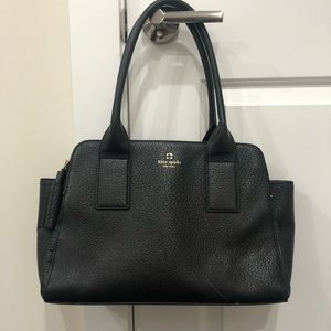 Black Kate spade purse, tote, work bag